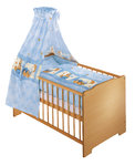 Bedding Set snuggle Bear blue by Julius Zöllner
