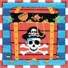 Pirate Servietten 33x33cm, 16er-Pack