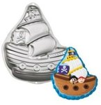 Shaped Pan Pirate Ship
