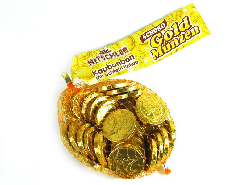 Gold Coins Chocolate Coins 150gr Morgenthaler S Partyshop