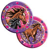 I Love Horses Plates 23cm, 8 pieces
