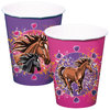 I Love Horses Cups, 8 pieces