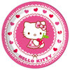 Hello Kitty Heart 2 Teller 23cm, 8er-Pack
