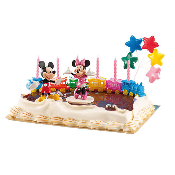 Mickey Minnie Dekorations Set 5 Tlg Morgenthaler S Partyshop