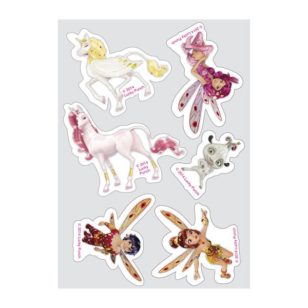 Mia and me edible sugar sticker