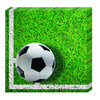 Fussball Party Servietten 33x33cm, 20er-Pack