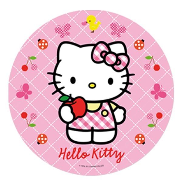 Hello Kitty Edible Image Cake Topper2 20cm Morgenthaler S