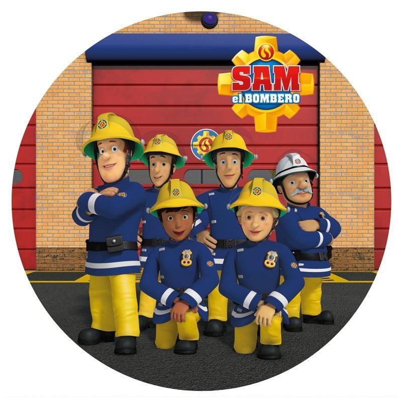 Fireman SAM Team edible Image cake topper, 20cm ...
