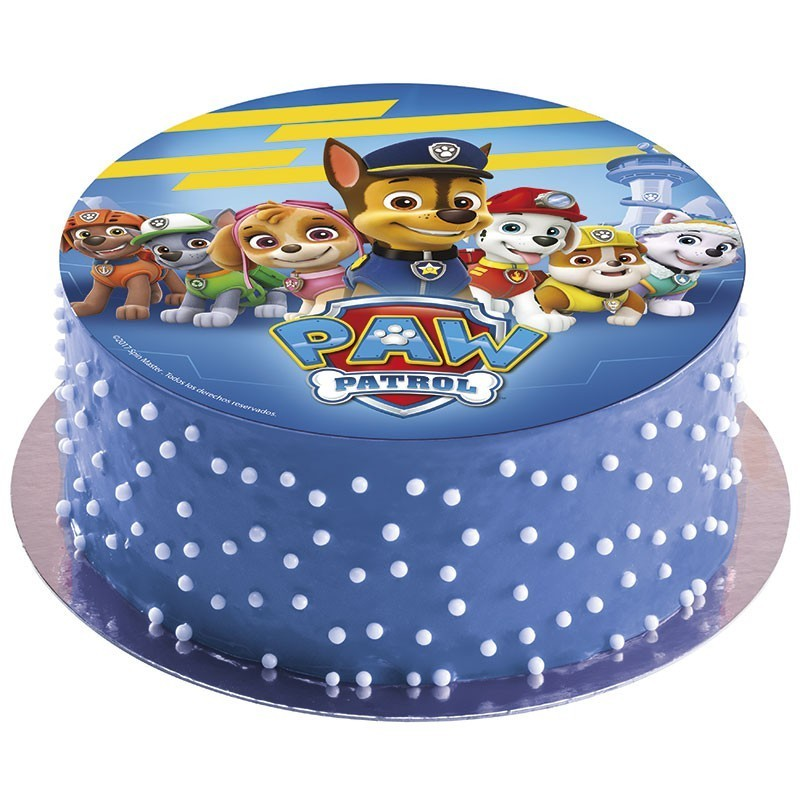 Edible Cake Decorations Paw Patrol : Paw Patrol edible Image cake topper, 20cm - Morgenthaler s