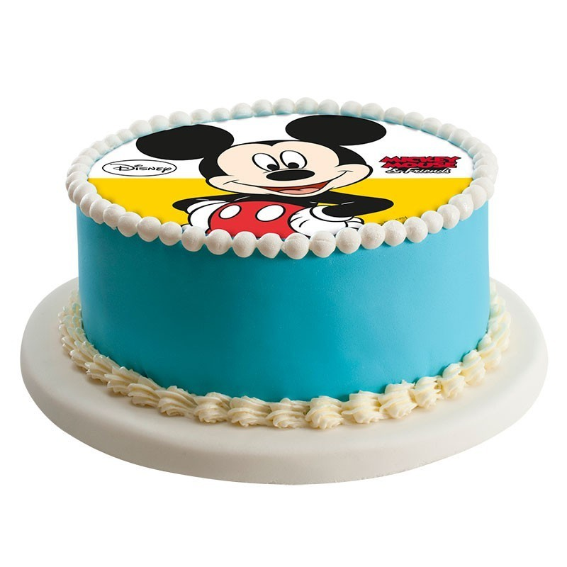 Mickey Mouse Edible Sugar Cake Topper 16cm Morgenthalers