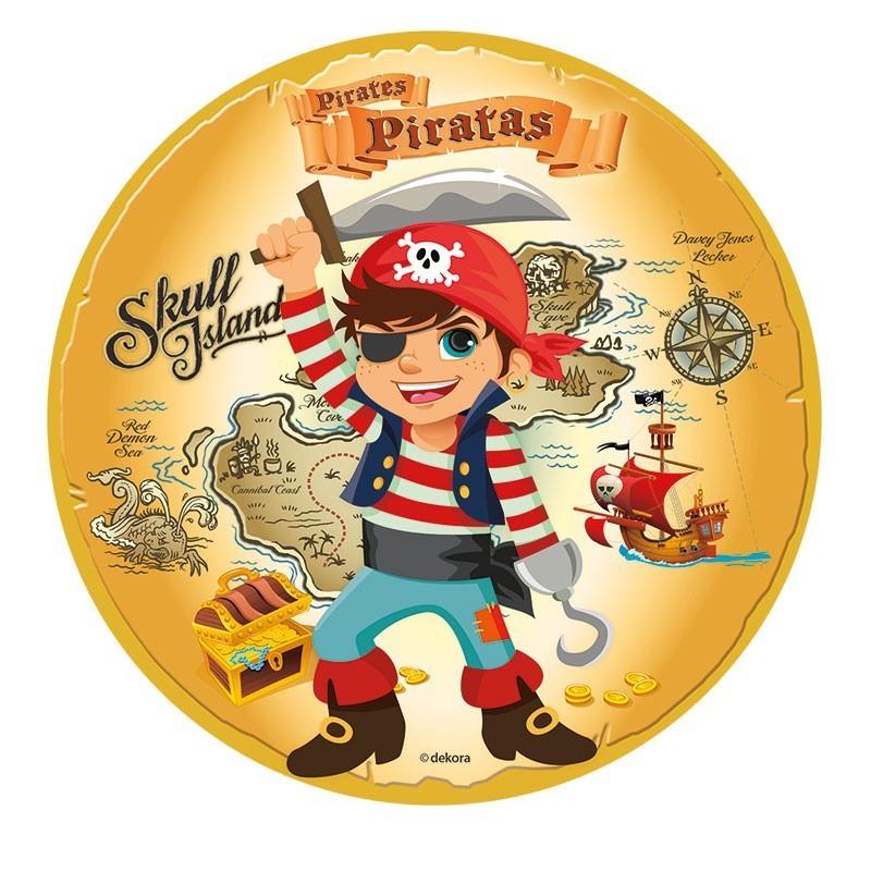 Kuchenaufleger pirat