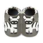 soft sole shoes zebra grey (M - XL)
